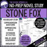 Stone Fox Novel Study - Distance Learning - Google Classroom