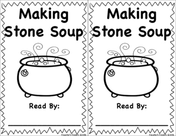 Stone Soup Book - Easy Reader - Sight Word Reader - a, in,