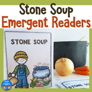 Stone Soup Emergent Reader Set & Sight Word Game