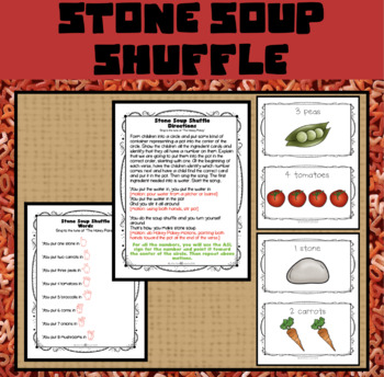 Making Stone Soup, Including Follow-up Activities for Young Children