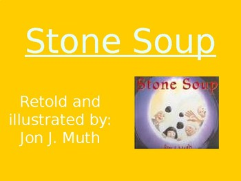 Stone Soup - Genre & Purpose