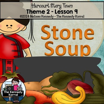 StoryTown Lesson 9 {Stone Soup - 3rd Grade}