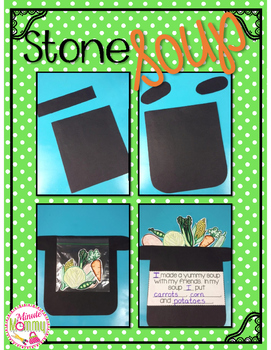 Stone Soup Interactive Writing Craftivity {FREEBIE}