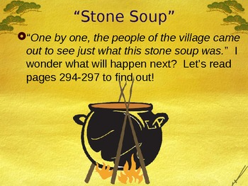 Stone Soup - Making Inferences - Support for Treasures Reading Program