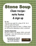 Stone Soup Note Home - Donations - editable