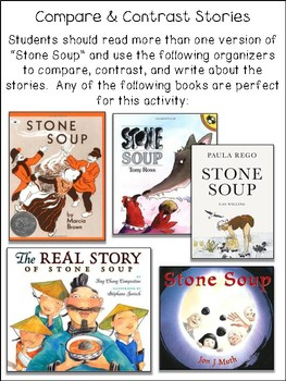 Stone Soup Readers Theater & Activities