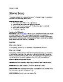 Stone Soup- Role Play