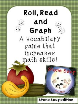 Stone Soup Roll Read and Graph- 2 versions