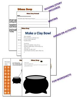 Stone Soup Short Story and Activities