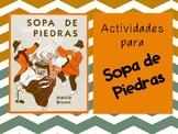 Stone Soup Spanish Activities- Sopa de piedras actividades