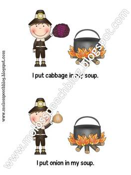 Stone Soup Speech & Language Companion Pack