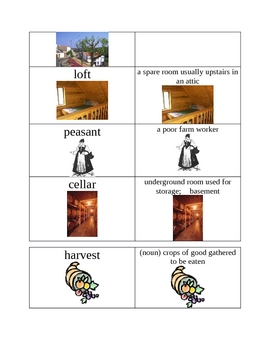 Stone Soup Spelling and Vocabulary List with Activities