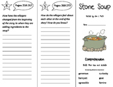Stone Soup Trifold - Storytown 3rd Grade Unit 2 Week 4