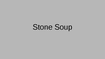 Stone Soup Vocabulary