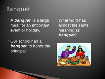 Stone Soup Vocabulary Introduction