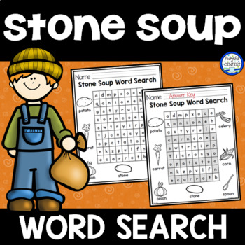 Stone Soup Word Search {FREE}