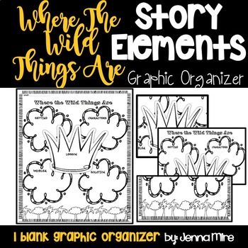 Where the Wild Things Are story elements handout