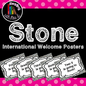 Stone Welcome Posters