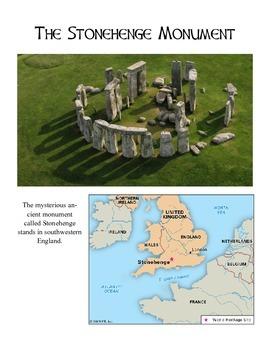 Stonehenge - History, reading comprehension