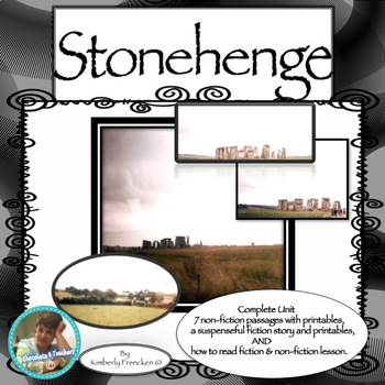 Stonehenge: Fiction Short Story & Printables & Non-Fiction