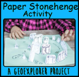 Stonehenge Distance Learning Independent paper project ancient history activity