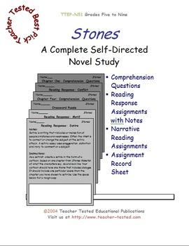 Stones: A Complete Novel Study