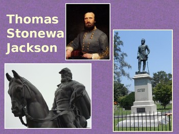 Stonewall Jackson-R.E. Lee's General-Bull Run/Chancellorsville-Civil War Series