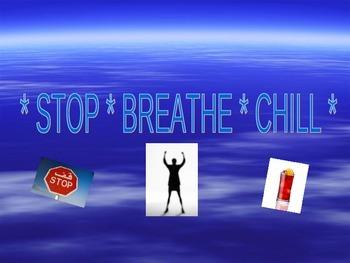 Stop, Breath, Chill (social skills lesson plan)