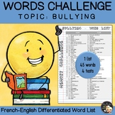 EFL Memory-Challenge - Bullying