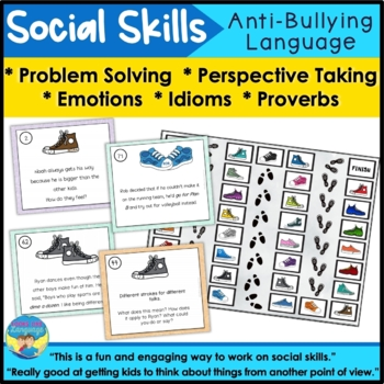 Social Skills Activities: Taking Perspectives, Problem Solving, Being Different
