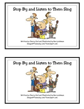 Stop By and Listen to Them Sing: Guided Reader (-op family)