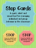 Stop Cards