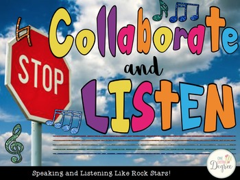 Stop, Collaborate, & Listen: Speaking & Listening Like Roc