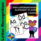 Stop & Continuant Alphabet Sound Flashcards