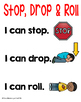 Stop, Drop & Roll Sequence Activity and Poster Freebie
