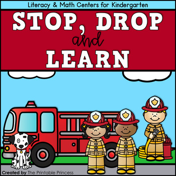 Fire Safety Centers and Printables for Kindergarten by The Printable ...