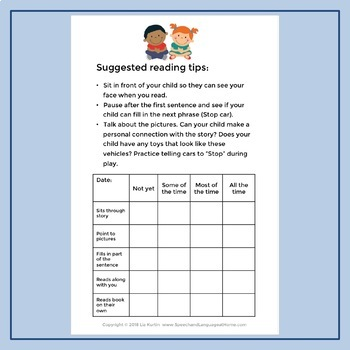 AAC Core Vocabulary Early Readers: Stop