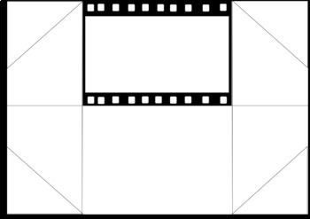 Stop Go Animation/Puppet Show Background Foldables - Blank and Cinematic only