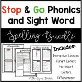 Stop & Go Phonics and Sight Word Spelling Bundle