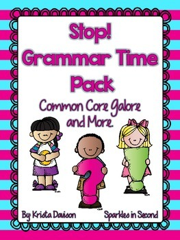 Stop! Grammar Time Pack