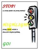 Stop, Highlight, Go