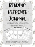 Reading Response Journal for Independent Reading
