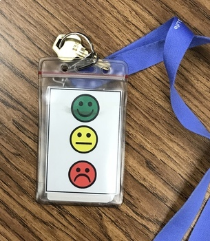 Stop Light Behavior Management Tool for Elementary Students