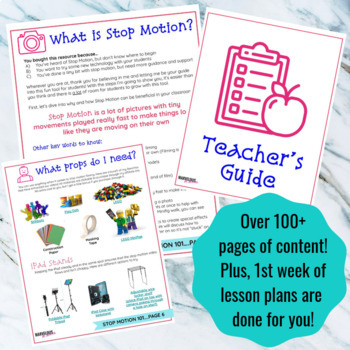 Stop Motion 101: Basics for the Elementary Classroom