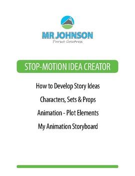 Stop-Motion Animation Idea Creator
