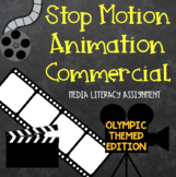 Stop Motion Animation Olympic Commercial Assignment