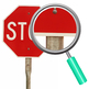 Stop Sign Photos Clip Art Set for Commercial Use