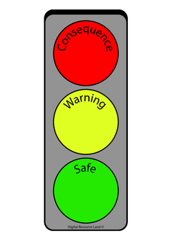 Stop Sign - Safe, Warning and Consequence