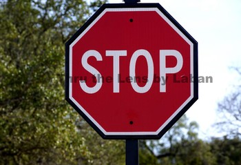 Stop Sign Stock Photo #52