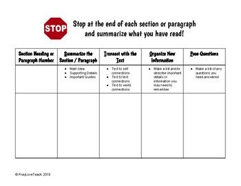 Stop Sign Summaries